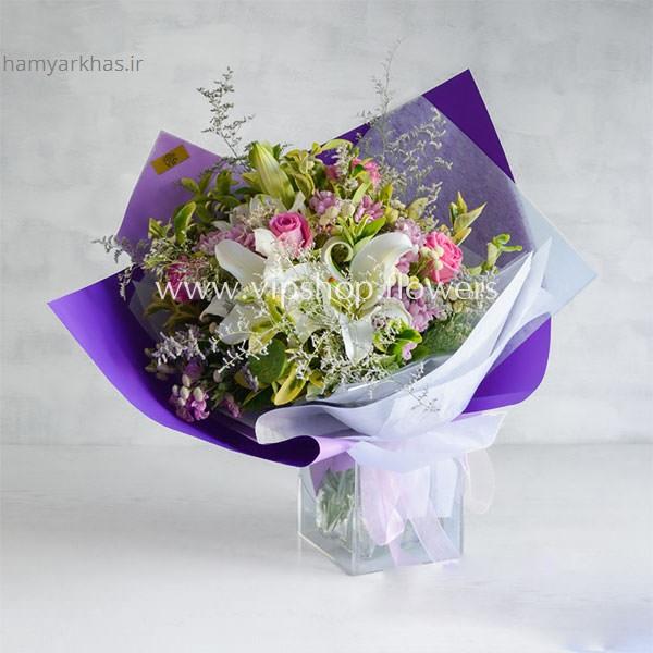دسته گل برای زایمان همسر hamyarkhas (10).jpg