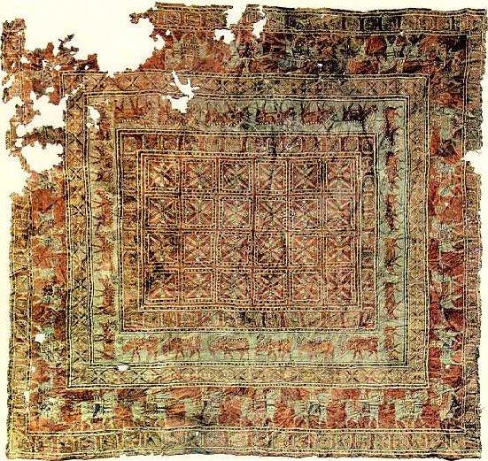 قدیمی ترین قالی متعلق به چند قرن پیش است.jpg