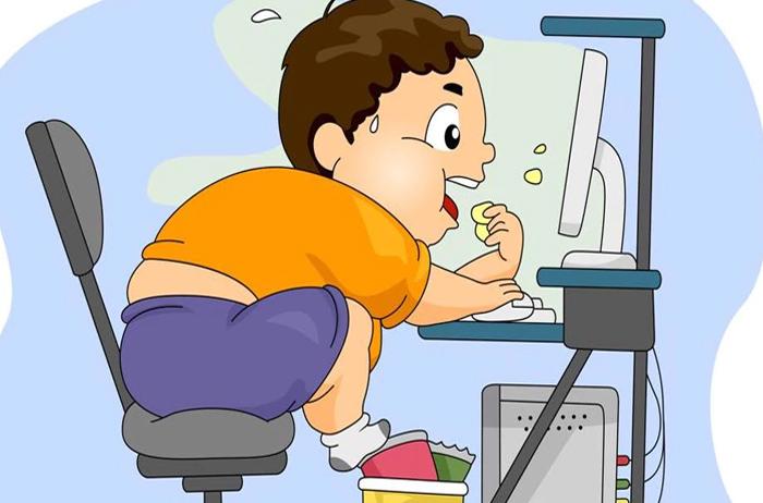نقاشی در مورد چاقی و اضافه وزن (2).jpg