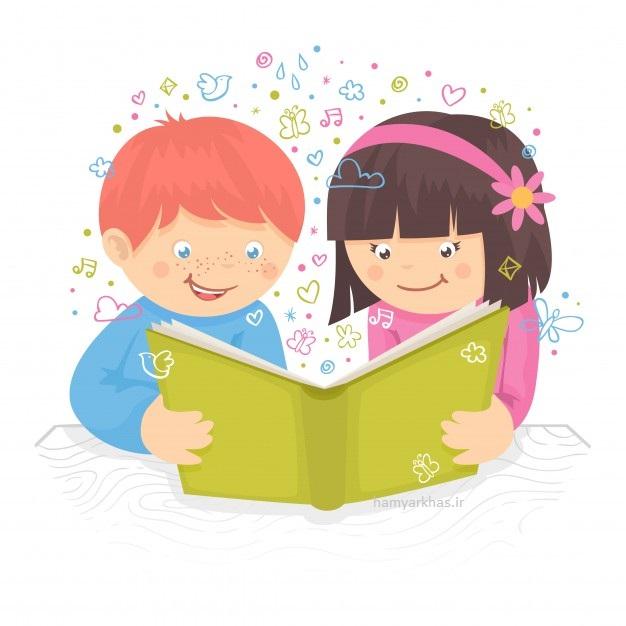 نقاشی کودکانه در مورد کتاب و کتابخوانی (3).jpg